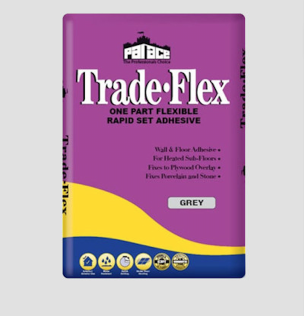 PALACE Trade- Flex One Part Flexible Adhesive – Grey