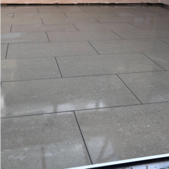 Allure Charcoal Polished Rectified Porcelain Floor Tiles 600x600x8mm