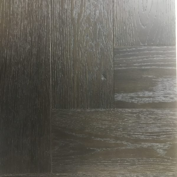 Smoked Oak & Black Stained