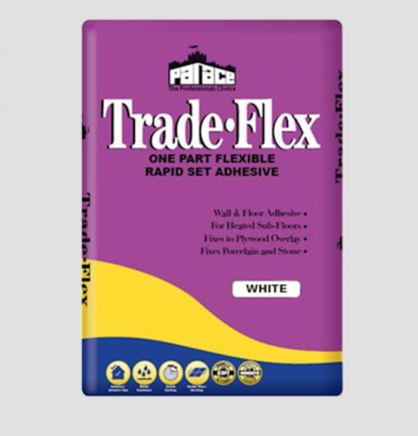 PALACE Trade- Flex One Part Flexible Adhesive – White