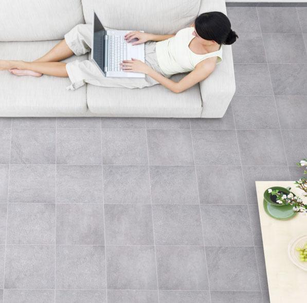 Urban Steel Porcelain Floor Tile 600x600x9.7mm