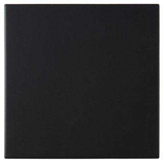 Dorset Woolliscroft Plain Black DW-FLBLK1515 Porcelain Quarry Tiles 148x148x9mm