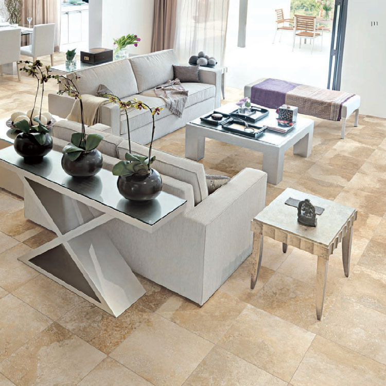 brown floor tiles modern