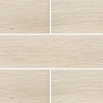 Grove Series Wood Effect White Porcelain Floor Tiles 1200x200mm