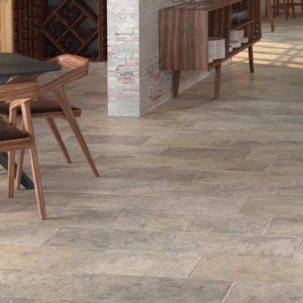 Petrastone Series Natural Effect Luna Porcelain Floor Tiles 900x450mm