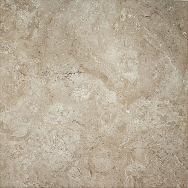 Johnsons NTM04F Natural Tone Mocha Gloss Porcelain Floor Tile 600x600x10mm