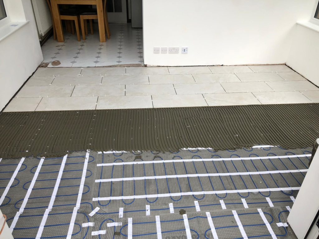 underfloor heating fitting