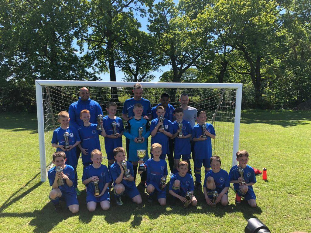 Penwortham St Teresa's JFC football team photo