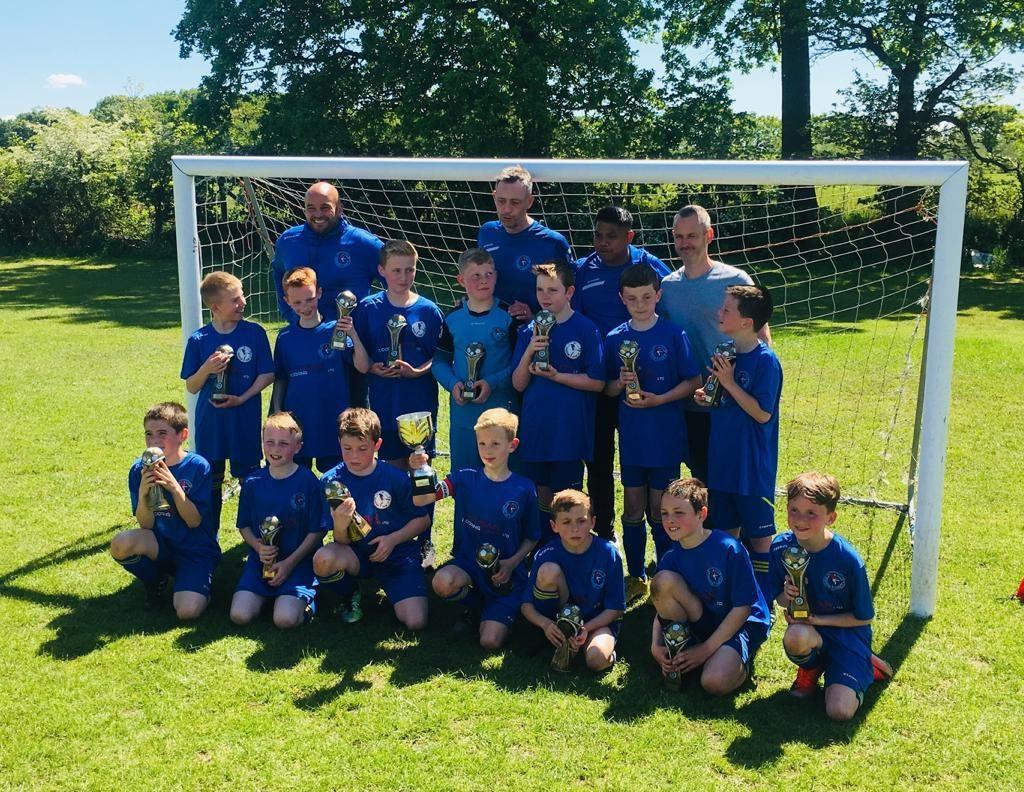 Penwortham St Teresa's JFC winners