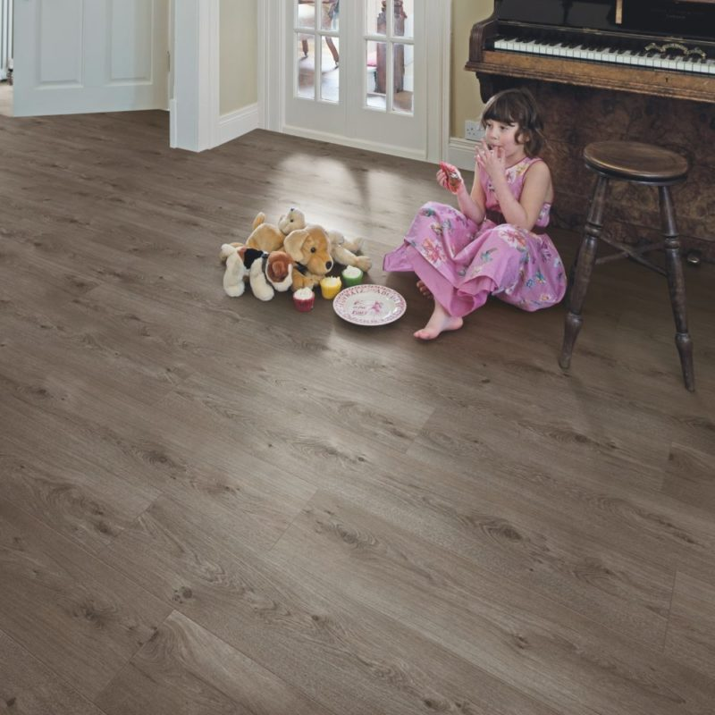 Sienna Oak laminate flooring