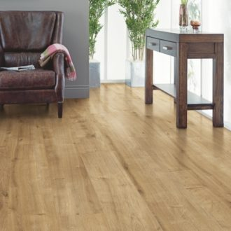 Elka Pavillion Oak V-Groove 8mm Long Plank Laminate Flooring ELW120