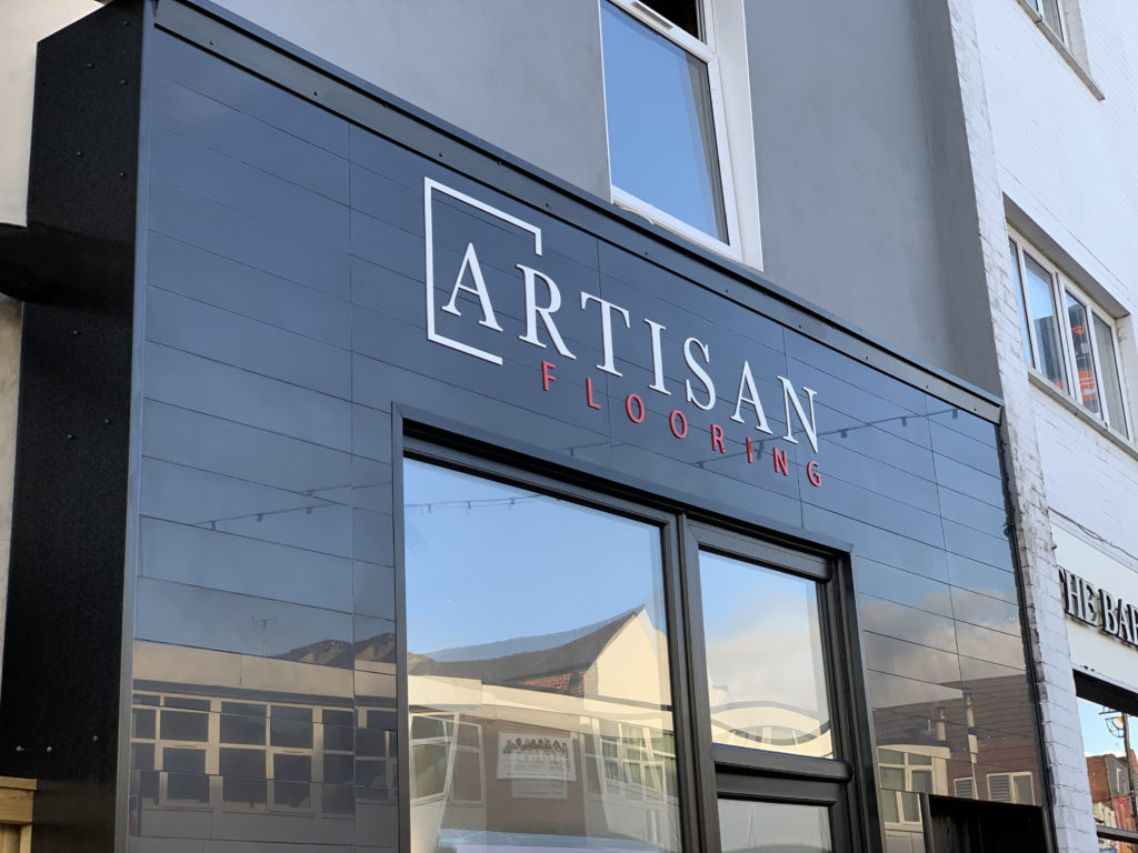 Artisan Flooring Centre showroom shop front