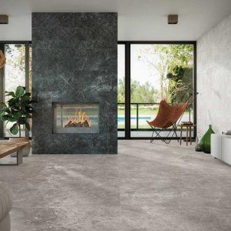 Amalfi Matt Finish Large Platform – Gris 1000 x 1000 Porcelain Tiles – Per Box