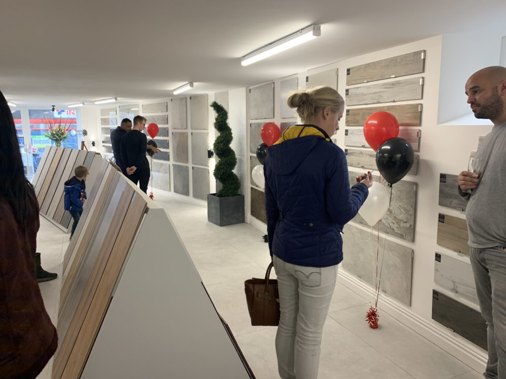 flooring showroom chorley