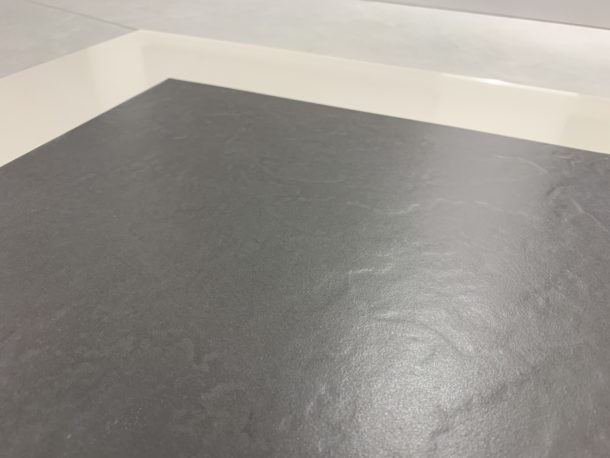 Johnson's LAGO1F – Matt Dark Grey Porcelain Floor & Wall Tile (330 x 330 x 8.5mm)