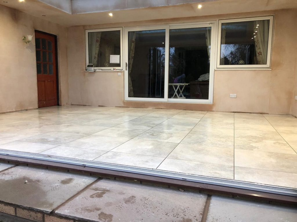 conservatory floor tiles in natural stone
