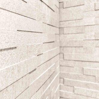 Bianco brick mosaic tiles