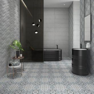 Tango Gaona Floor patterned tiles
