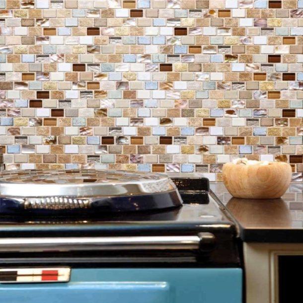 Eden Mosaic Floor and Wall Tiles 305 x 305 x 8
