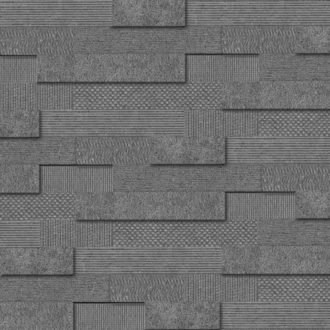 Cityscape Smoke Brick Mosaic Wall Tiles 300x600x10.3