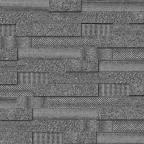 Cityscape Smoke Brick Mosaic Wall Tiles 300x600x10.3