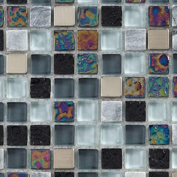 Artemis Glass Mosaic Wall Tiles 295 x 295 x 8mm