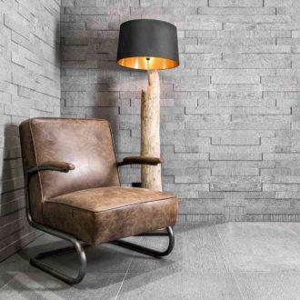 grey brick effect wall tiles