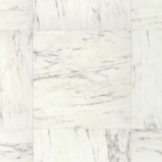 Arte Marble Carrara Laminate Flooring 624 x 624 x 9.5 mm