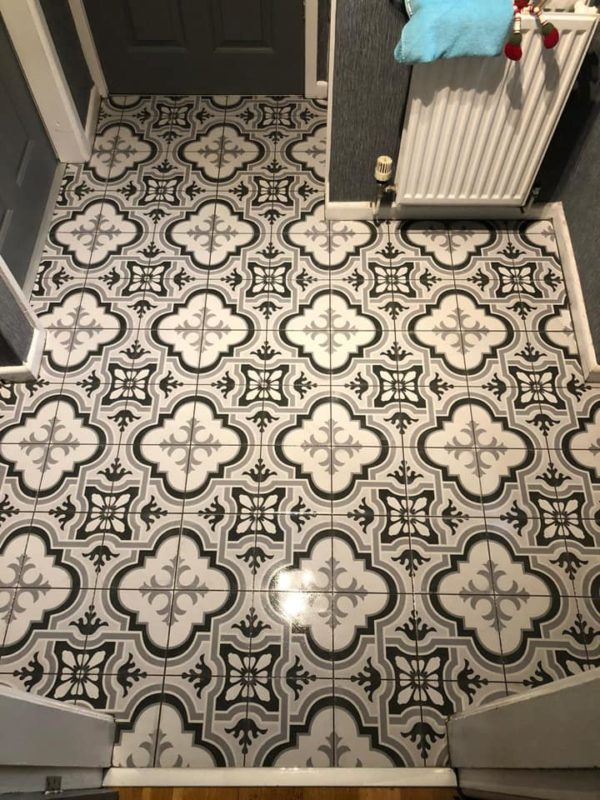Designer porch tiles chorley