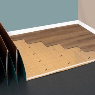 elka underlay for LVT flooring
