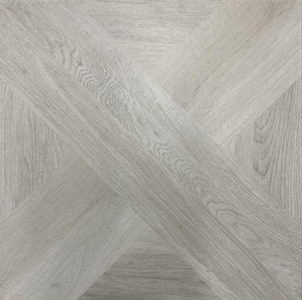 French Parquet  Intarsio Bianco 610 x 610 mm Porcelain Floor Tile