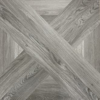 French Parquet Intarsio Grisio 610 x 610 mm Porcelain Floor Tile