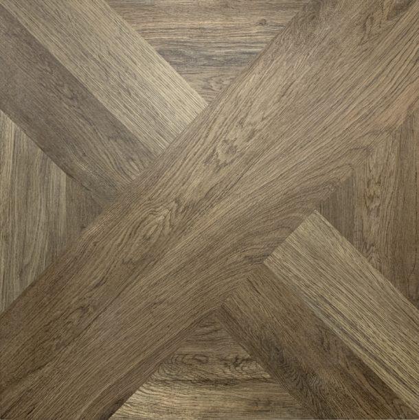 French Parquet Intarsio Moro 610 x 610 mm Porcelain Floor Tile