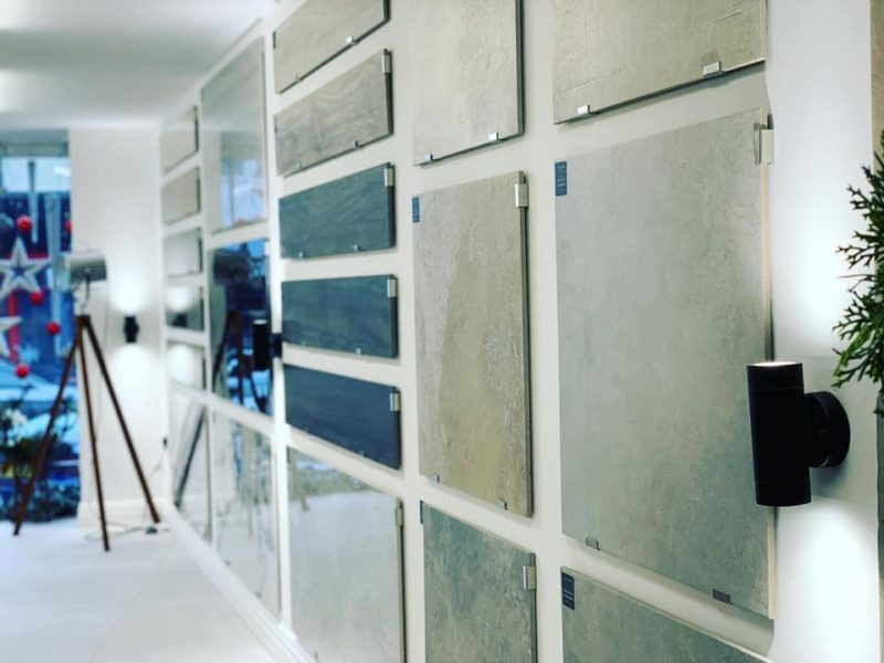 tile showroom close up image