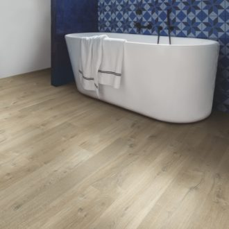 IMU3557 quickstep flooring in bathroom