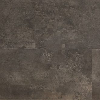 Atkinson & Kirby Luxury Vinyl Tile Dark Clerkenwell Concrete 600 x 300 x 4.7mm