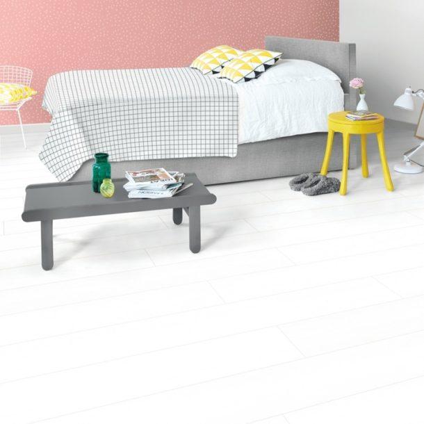 Quick-Step White Planks Impressive Ultra Laminate – IMU1859