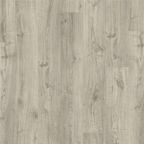 Quick-Step Autumn Oak Warm Grey Pulse Click Vinyl Tile 1251mm x 187mm PUCL40089