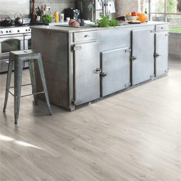 Quick-Step Canyon Oak Grey Saw Cuts Balance Click Vinyl Tile 1251mm x 187mm BACL40030