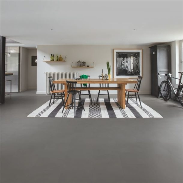 Quick-Step Minimal Medium Grey Ambient Click Vinyl Tile 1300mm x 320mm – AMCL40140