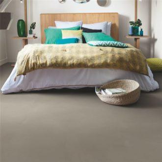 Minimal taupe vinyl floor tiles