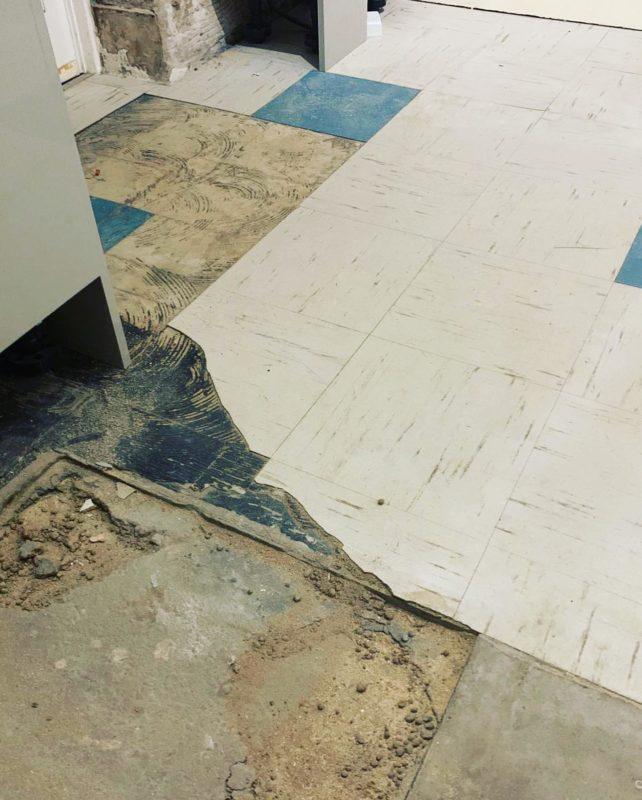 base floor preperation
