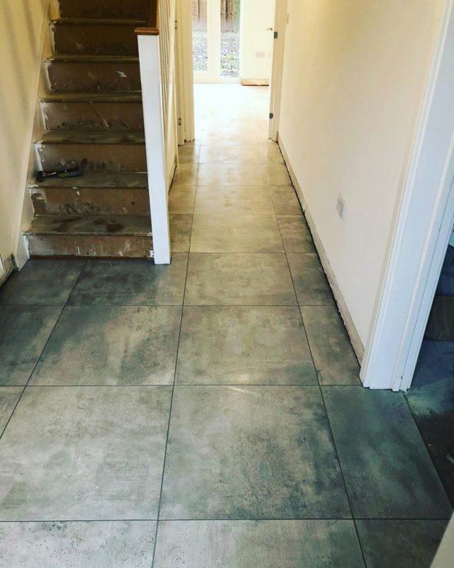 new build tiling
