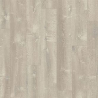 Quick-Step Sand Storm Oak Warm Grey Pulse Click Vinyl Tile 1251mm x 187mm PUCL40083