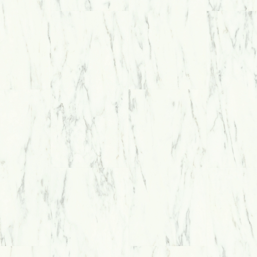 Quick-Step Alpha Marble Carrara White AVST40136 Rigid Vinyl Floor Tiles  610.0 x 303.0 x 5 mm