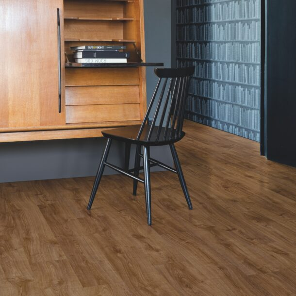 Quick-Step Alpha Autumn Oak Brown AVMP40090 Rigid Vinyl Medium Planks