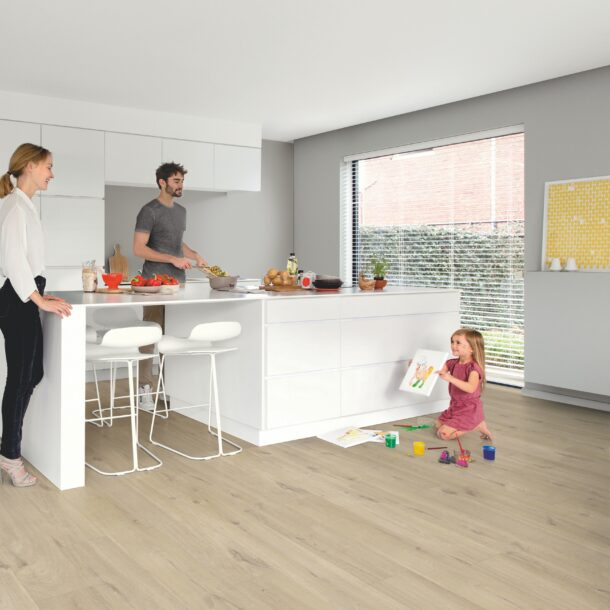 Quick-Step Alpha Cotton Oak beige AVMP40103 Rigid Vinyl Medium Planks