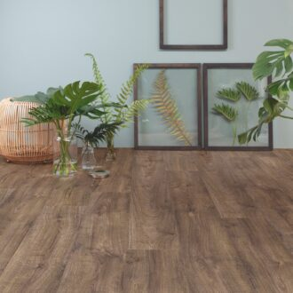 Quick-Step Alpha Autumn Oak Chocolate AVMP40199 Rigid Vinyl Medium Planks