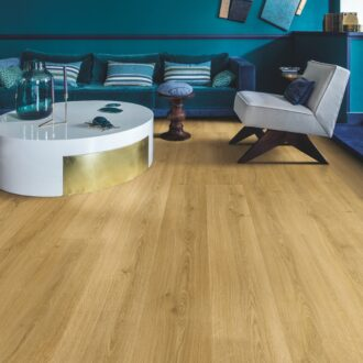 Quick-Step Alpha Botanic Smoked Oak AVMP40238 Rigid Vinyl Medium Planks