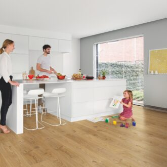 Quick-Step Alpha Cottage Oak Natural AVSP40025 Rigid Vinyl Small Planks